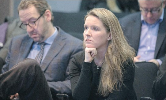 ?? WAYNE CUDDINGTON/OTTAWA CITIZEN ?? Katie Telford has 'a natural affinity for people,' says former debating partner Ranjan Agarwal. 'People were drawn to that and as a result she commanded a lot of loyalty and respect from the people around her.'