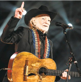 "?? Rich Fury / Getty Images for NARAS ?? Willie Nelson apparently has Frank Sinatra under his skin, as demonstrat­ed by a second cover album, ""That's Life."""