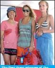 ??  ?? The first three winners of the women's open Olivia Ellie Flint, Simona Watermusic and Anna Cerna.