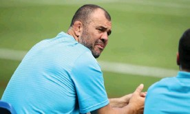 ?? Photograph: Mark Kolbe/Getty Images ?? The cavalry won't be coming in the form of Michael Cheika but the former Waratahs coach offers one potential model for success.
