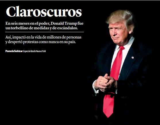 PressReader - La Voz del Interior  2017-07-18 - Seis meses de Trump ... c23a57af13e