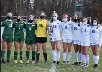 ?? BY KYLE ADAMS KADAMS@SARATOGIAN.COM @KASPORTSNEWS ON TWITTER ?? After the Suburban Council girl's championship game was cancelled, Shen refused to accept the forfeit and both teams were named co-champions