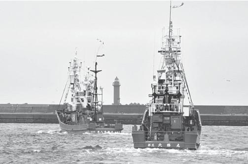?? AFP / Kazuhiro NOGI ?? JAPAN'S fisheries agency has set a cap for the season through December of 227 whales.