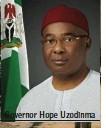 ??  ?? Governor Hope Uzodinma