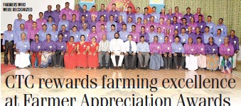 ??  ?? FARMERS WHO WERE RECOGNIZED