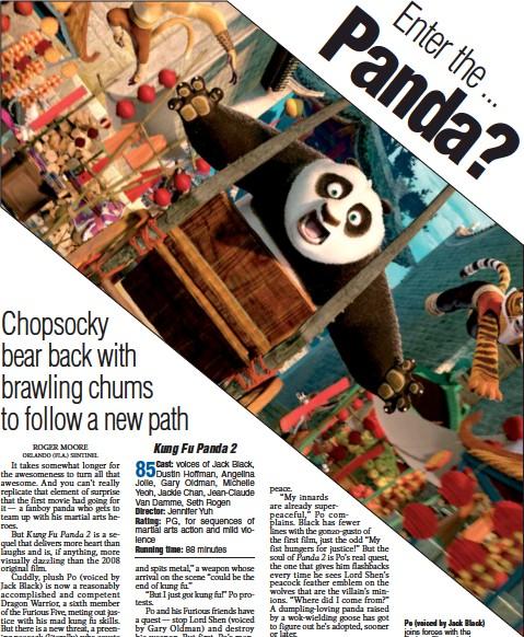 Pressreader Arkansas Democrat Gazette 2011 05 27 Enter The Panda