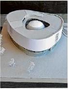 ?? Foto: Diana Mühlberger ?? Die meisten Stimmen erhielt der Entwurf des Architekturstudenten Stefan Tolksdorf.