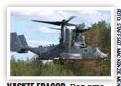 ??  ?? VÄCKTE FRÅGOR. Den amerikanska flygplanshelikoptern CV-22 B Osprey flög över Bromma.