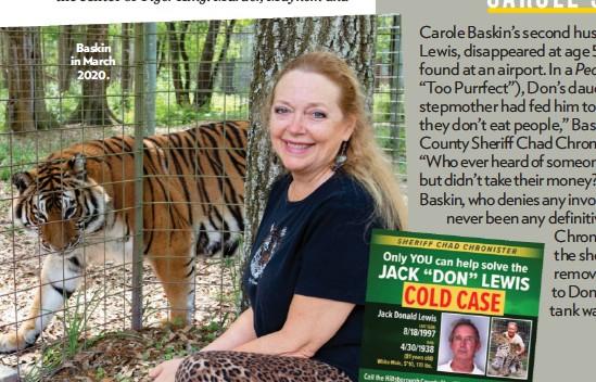 Pressreader People Usa 2020 04 20 What Happened To Carole S Husband