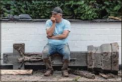 ??  ?? Hotelier Wolfgang Ewerts wollte nach der Katastrophe einfach nur weglaufen, aber nun will er bleiben und weitermachen.