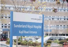 ??  ?? Sunderland Royal Hospital is treating Covid patients.
