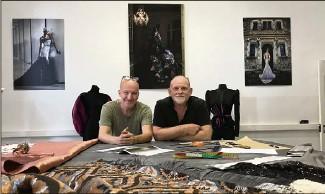 ??  ?? Gérald Lietard (à gauche), directeur général et Denis Durand attendant avec impatience la nouvelle promotion de l'école. (Photos Cl. C.)