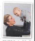 ??  ?? BIG HELP: Caroline Hufnagl's son has a Cochlear implant.