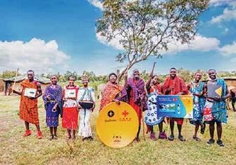 """??  ?? 非洲""""万村通""""项目为肯尼亚马赛社区安装卫星电视接收设备"""