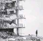 ?? MATIAS J. OCNER mocner@miamiherald.com ?? Champlain Towers South partially collapsed in Surfside on June 24.