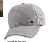 ??  ?? MISSION Vented Performance Hat