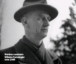 ??  ?? Wartime conductor: Wilhelm Furtwängler circa 1945