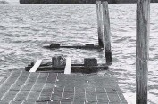 ?? LINDA ROBERTSON lrobertson@miamiherald.com ?? The public dock at Northeast 64th Street was damaged in 2005 during Hurricane Wilma and then closed in 2009.
