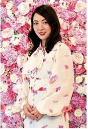 ?? — SAM THAM/The Star ?? Sekita says that Stuart is a lover of all things Japan so when she wanted to launch her beauty brand, she decided to create it in Japan.
