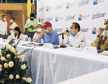?? SUMINISTRADA ?? La audiencia pública de la Comisión de Paz celebrada ayer en Sincelejo.