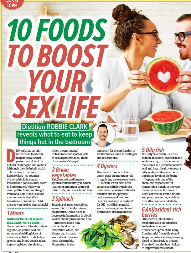 foods that help increase testosterone