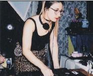 ??  ?? Sara Mannseichner, a.k.a. DJ Mani Pedi