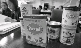 ?? BY AARON FAVILA — ASSOCIATED PRESS ?? The Philippines' allegation against Wyeth comes during a Supreme Court case there over marketing infant formula.