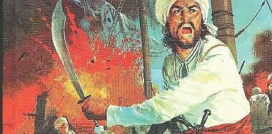 ??  ?? Mito Un'illustrazione di Sandokan, il personaggio più iconico nato dalla penna di Emilio Salgari Protagonista dei romanzi del ciclo indomalese dello scrittore