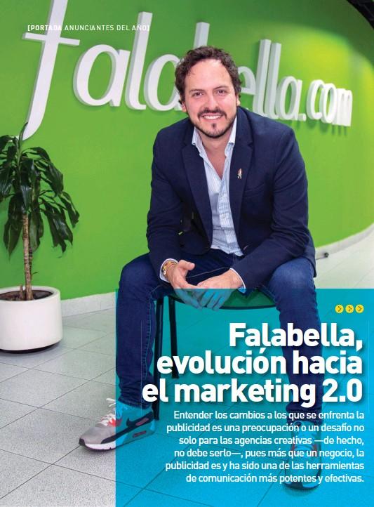 ??  ?? Lucas Chávezalcorta, gerente de mercadeo de Falabella.