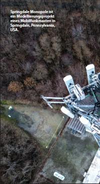 ??  ?? Springdale Monopole ist ein Modellierungsprojekt eines Mobilfunkmasten in Springdale, Pennsylvania, USA.
