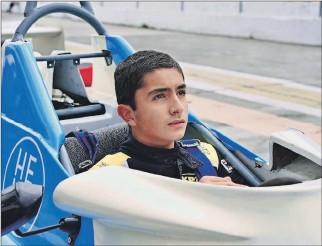 ?? CORTESÍA ?? Capacidad. Nicolás Zúñiga ha demostrado mucha capacidad al mando de los monoplazas. Hoy aspira llegar a la fórmula Indy.
