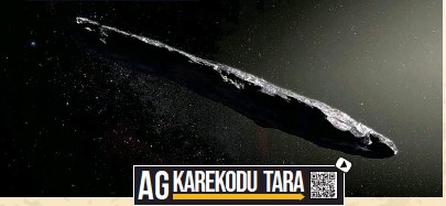 ??  ?? Altta: 'Oumuamua Güneş Sistemi'nden geçtiği tespit edilen ilk yıldızlararası cisim