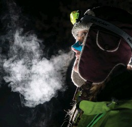 ??  ?? O'Neill prepped for months to run the St. Croix trail ultra in frigid temperatures.
