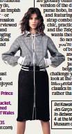 ??  ?? Hooded laser-cut Prince of Wales checked cotton-jacquard jacket, acket, £760; satin-trimmedmed laser-cut Prince off Wales checked cottonjacquard skirt, £635 35 Sacai (net-a-porter.com) er.com)