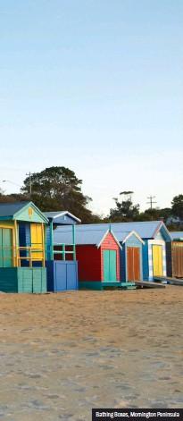 ??  ?? Bathing Boxes, Mornington Peninsula
