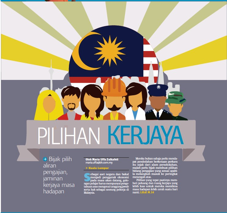 Pressreader Berita Harian 2018 05 01 Pilihan Kerjaya