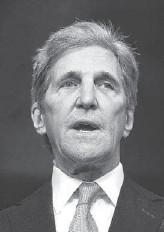 ?? ASSOCIATED PRESS ?? John Kerry