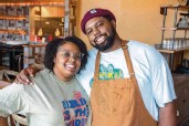 ?? ALEX CASON CharlotteFive ?? Subrina and Greg Collier are the owners of Leah & Louise at Camp North End.