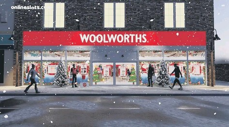 ??  ?? Virtual tour of Woolworths rewinds the clock to the Nineties (photo: Onlineslot­s.com)