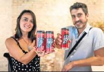 ?? NTEAM ?? Raquel Jove y Raúl Gómez, de la empresa gaditana Rebombo.