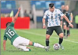 ??  ?? El sevillista Acuña, actualmente con Argentina.