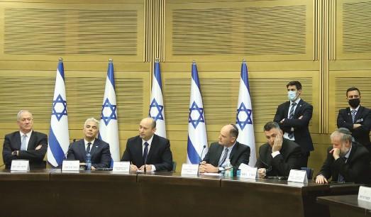 ?? (Marc Israel Sellem/The Jerusalem Post) ?? PRIME MINISTER Naftali Bennett convenes his first cabinet meeting this week.