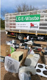 ??  ?? Plettenberg Bay's recent e-waste collection campaign was a massive success.