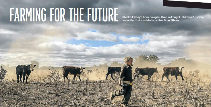 ??  ?? Harry Tay­lor, 6, plays in the dust­bowl of his fam­ily farm. In the Cen­tral Western re­gion of New South Wales, Aus­tralia, farm­ers bat­tle a crip­pling drought which many are call­ing the worst since 1902.