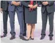 ?? FOTO: DPA ?? Die große Koalition hat sich auf eine Frauenquote geeinigt.