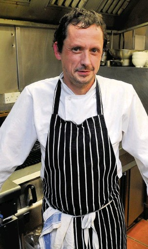 ?? Eddie Garvey ?? Chef Paul Faulkner, who opened his new restaurant Brassica in Heaton Moor which is now in the running for an award