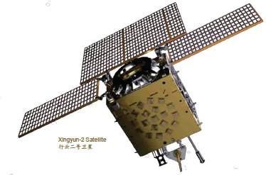 ??  ?? Xingyun-2 Satellite行云二号卫星