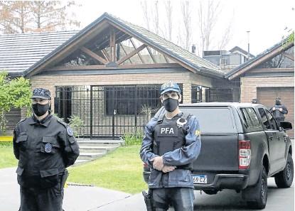 ?? Marcelo Manera ?? El pasado martes fue allanada la vivienda de Mario Segovia, en Rosario