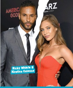Dating ricky who is whittle Ricky Whittle's