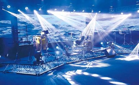 """??  ?? """"La idea es que Santander cuente con un espacio para realizar los conciertos online, así como ya los hay en otros departamentos"""", dice Lobo."""